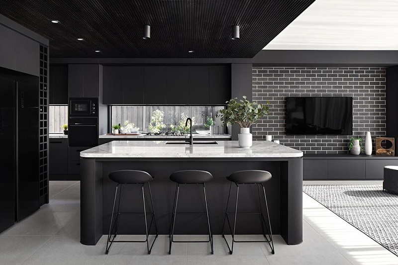 Perfect Way To Highlight Designer Look Of Kitchen